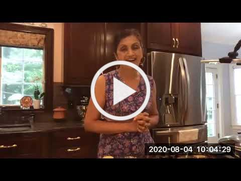 Virtual - Simple Summer Indian Dishes with Chef Sandhya Nadkarni (8/4/20)