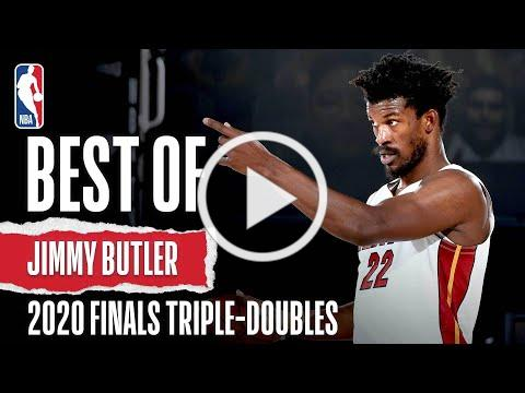 The Best Plays From Jimmy Butler's #NBAFinals Triple-Doubles!