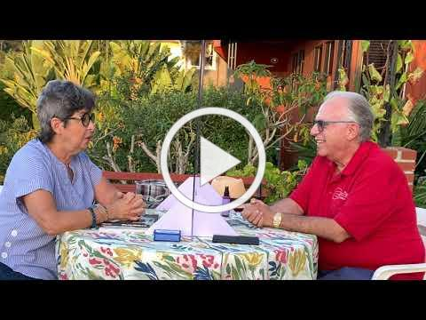 Pepe Romero and Sandra Scheller talk about music, the Holocaust and to always have hope.
