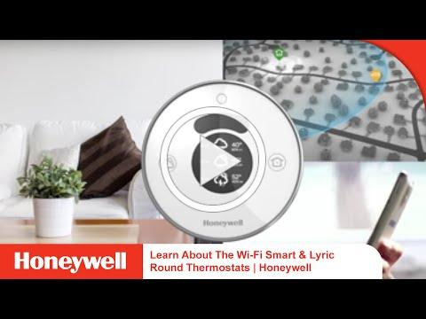 Learn About The Wi-Fi Smart & Lyric Round Thermostats   Honeywell