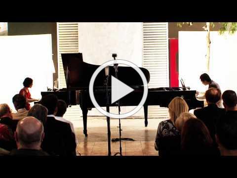 The Dranoff Duo Piano Concert November 4, 2010 Part I