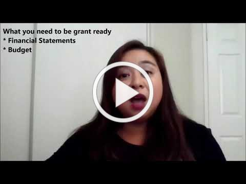 FAQ Webisode Episode 2- What do you need to get grant ready