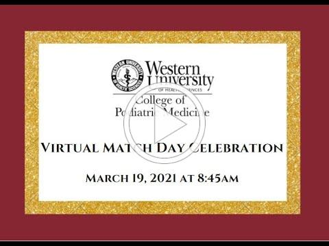 WesternU CPM Match Day Celebration