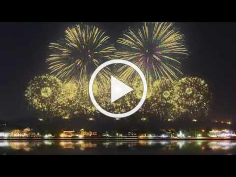 The Most Beautiful Firework Show Ever!