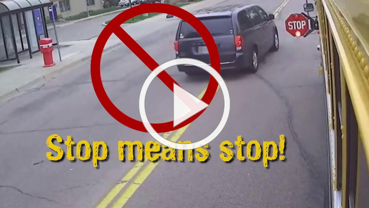 Stop Means Stop | School Bus Safety