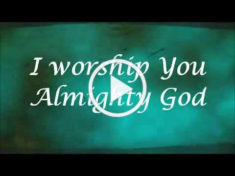 I Worship You, Almighty God There is none like you Sondra Corbett with Lyrics YouTube
