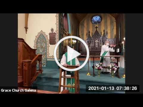 Grace Episcopal Church, Galena IL, Wednesday 1-13-21