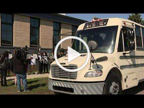 Special bus donated to Downtown Boxing Gym