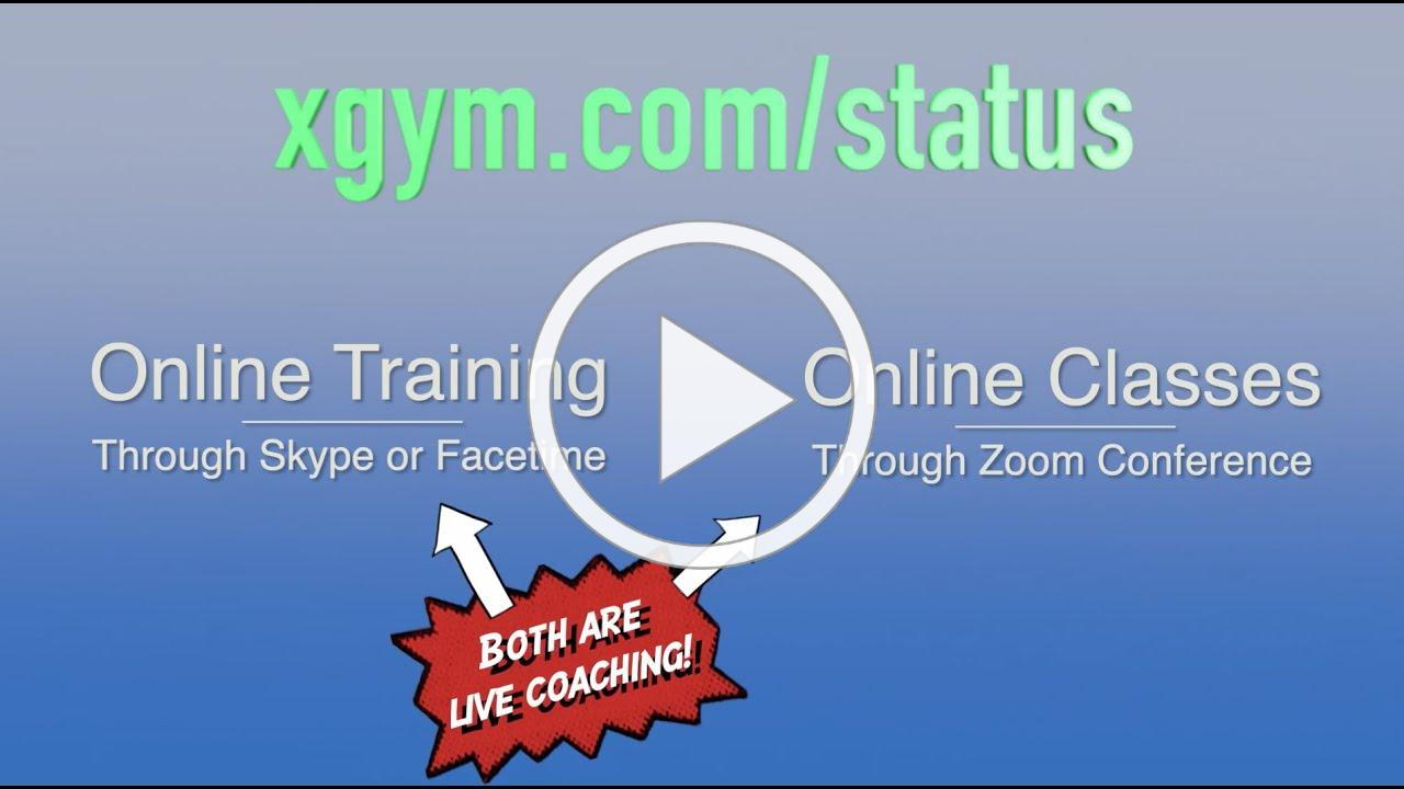 X Gym Online Training Transition