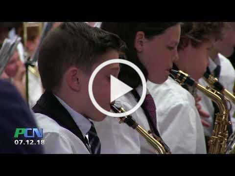Pembroke Elementary Cadet Band Performs at Kingston Collection