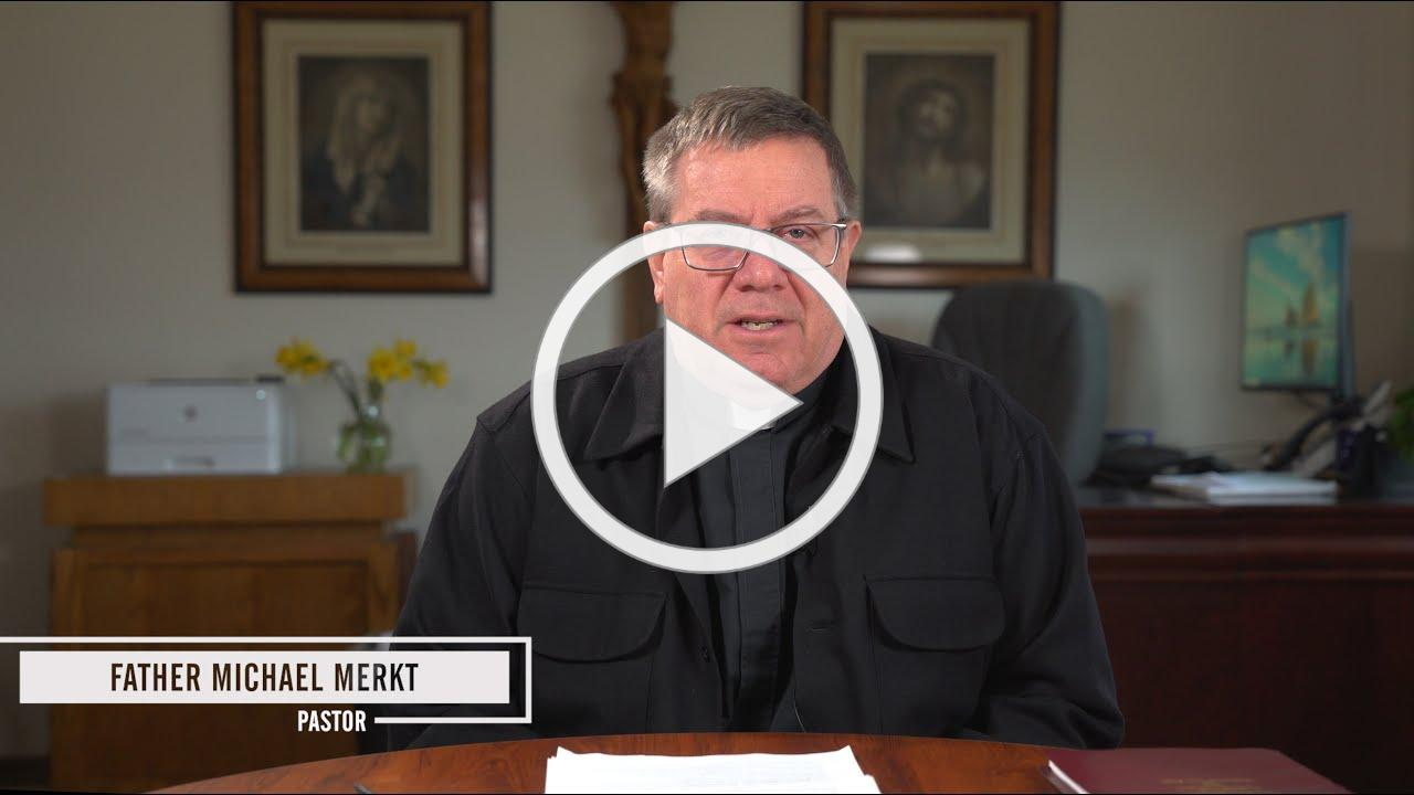 Message from Fr. Michael April 1, 2020