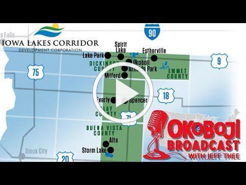 Okoboji Broadcast with Jeff Thee #142 Kiley Miller