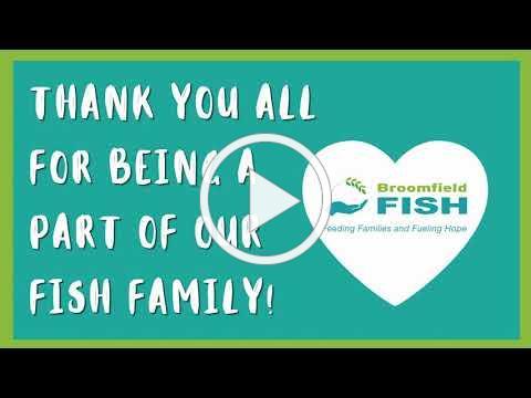 Thank You Broomfield FISH Volunteers!