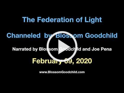You Run Your Own Show Blossom Goodchild channeling the Federation of Light February 09, 2020