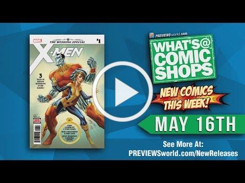 What's @ Comic Shops: New Comics This Week For 5/16/2018