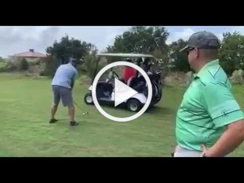 Snake prank on golf field | funny comedy