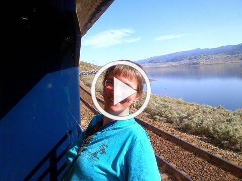 My trip on the Rocky Mountaineer - Gold Leaf Service - May 7-8, 2013