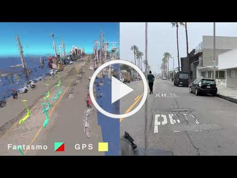 Fantasmo's Camera Positioning Standard (CPS) Scooter Demo