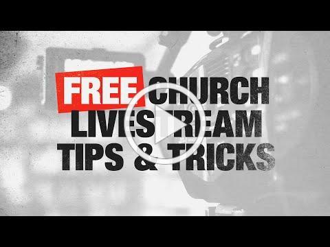 FREE Ways to Improve Church Livestream Engagement