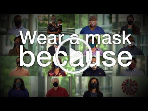 I wear a mask because (40 secs)