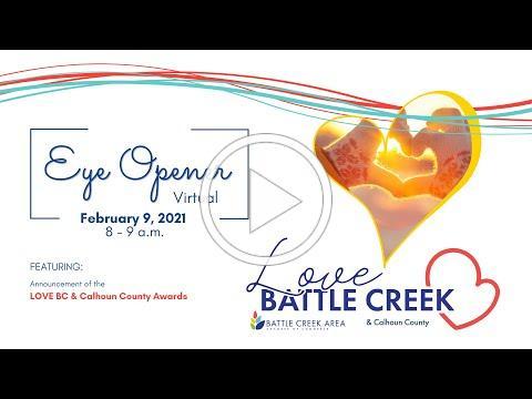 February Eye Opener featuring Love Battle Creek and Calhoun County Awards