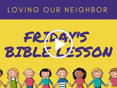 VBS 2020 Friday Bible Lesson/Joy