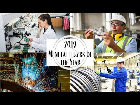 2019 Manufacturers of the Year