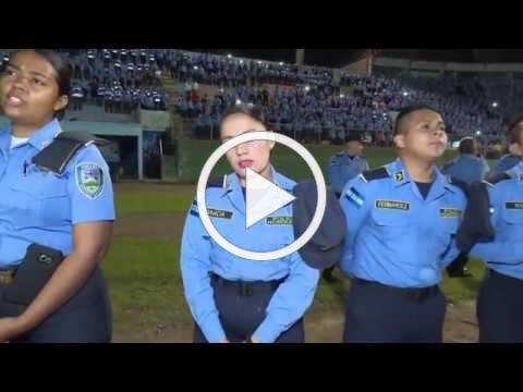 Honduras Police Worship
