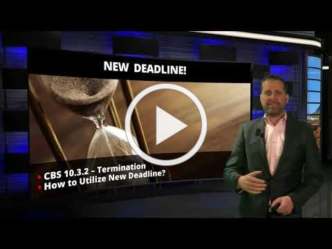 CAR Legal Bites #37 Inspection Termination Deadline