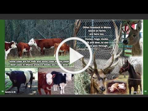 Agriculture for ME Online Reading