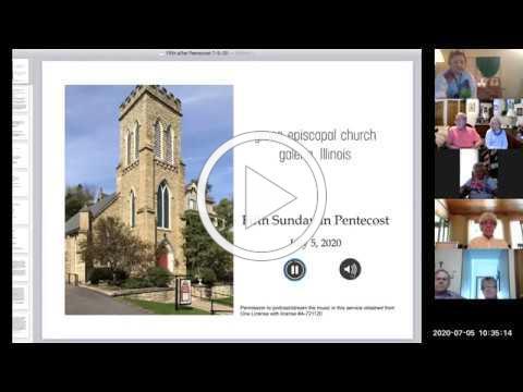 Grace Episcopal Church, Galena, Illinois Sunday Worship 7 2 2020