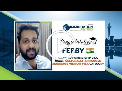 IANZ Client Success Stories | Febby | Granted Culturally Arranged Marriage Visitor Visa