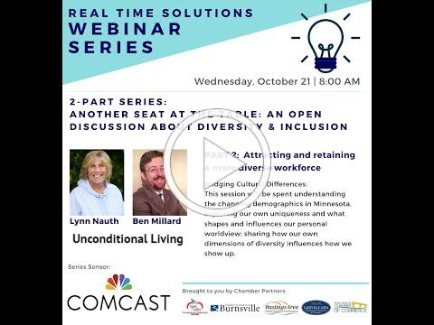 RTS Webinar Part 2 - Attracting & retaining a more diverse workforce - Bridging Cultural Differences