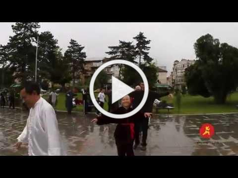 World Tai Chi Day 2014 in Macedonia with Opening statement