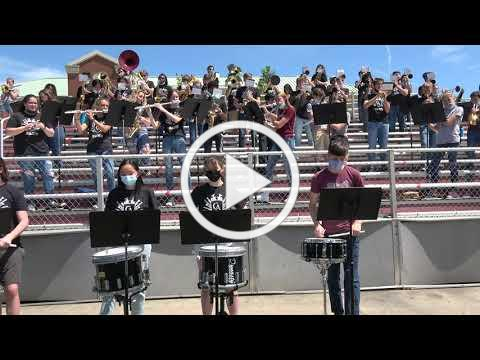 Hey Song from Outdoor Band Concert