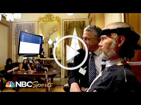 NFL legend Steve Gleason receives Congressional Gold Medal for work with ALS   NBC Sports