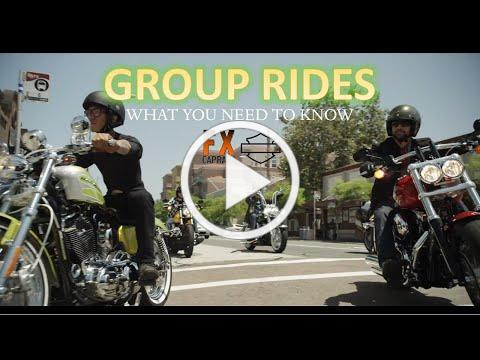 How to Go On and Plan a Group Ride