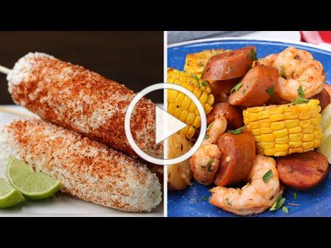 5 Juicy Corn Recipes To Beat The Summer * Tasty