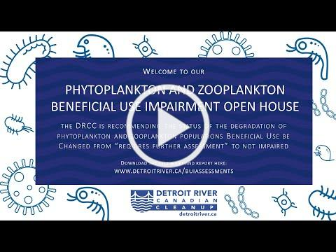 Degradation of Phytoplankton and Zooplankton BUI Open House