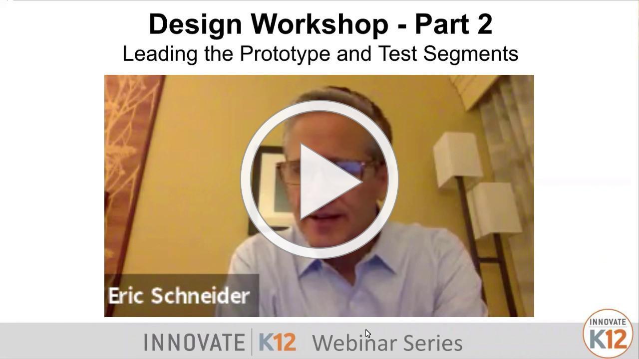 Design Workshop - Part 2