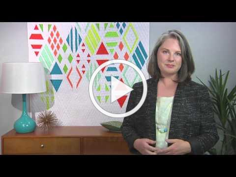 Learn all about modern quilting on Fresh Quilting with Heather Grant (102-1)