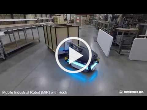 MiR Hook Demo at Automation, Inc.