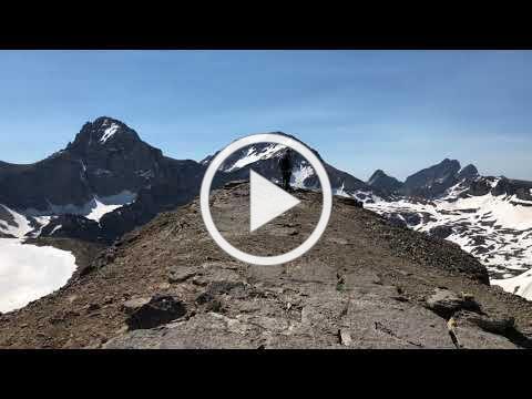 Trekking in the Tetons