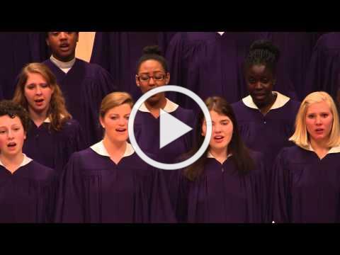 """St. Olaf Choir - """"What Wondrous Love"""" - Southern Harmony, arr. Robert Scholz"""