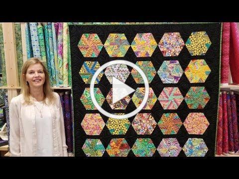Donna's FREE Hexagon Pinwheels Pattern!