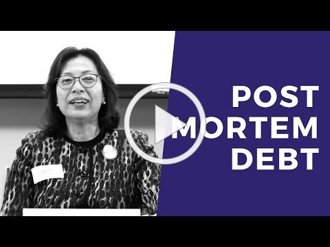 Post Mortem Debt Collection