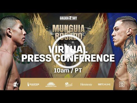 #MunguiaRosado Virtual Press Conference