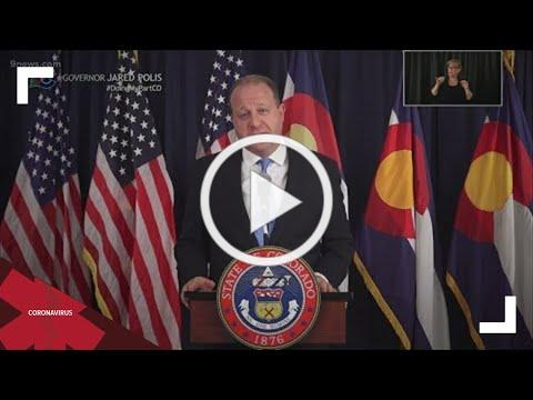 Polis gives update on COVID cases, vaccination efforts in Colorado