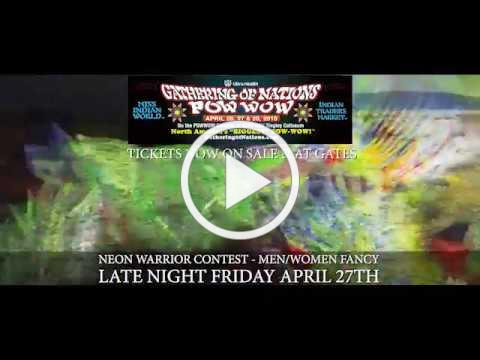 Late Night Special - Fancy 2018 Gathering of Nations Pow Wow