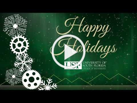Happy Holidays from the USF College of Engineering!